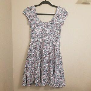 ANTHROPOLOGIE || kimchi blue floral skater dress